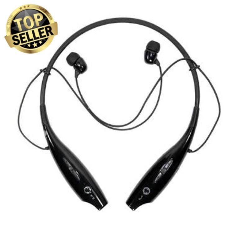 LG TONE HBS 730 Bluetooth Earphone Stereo Hetset Wireles Colour Black