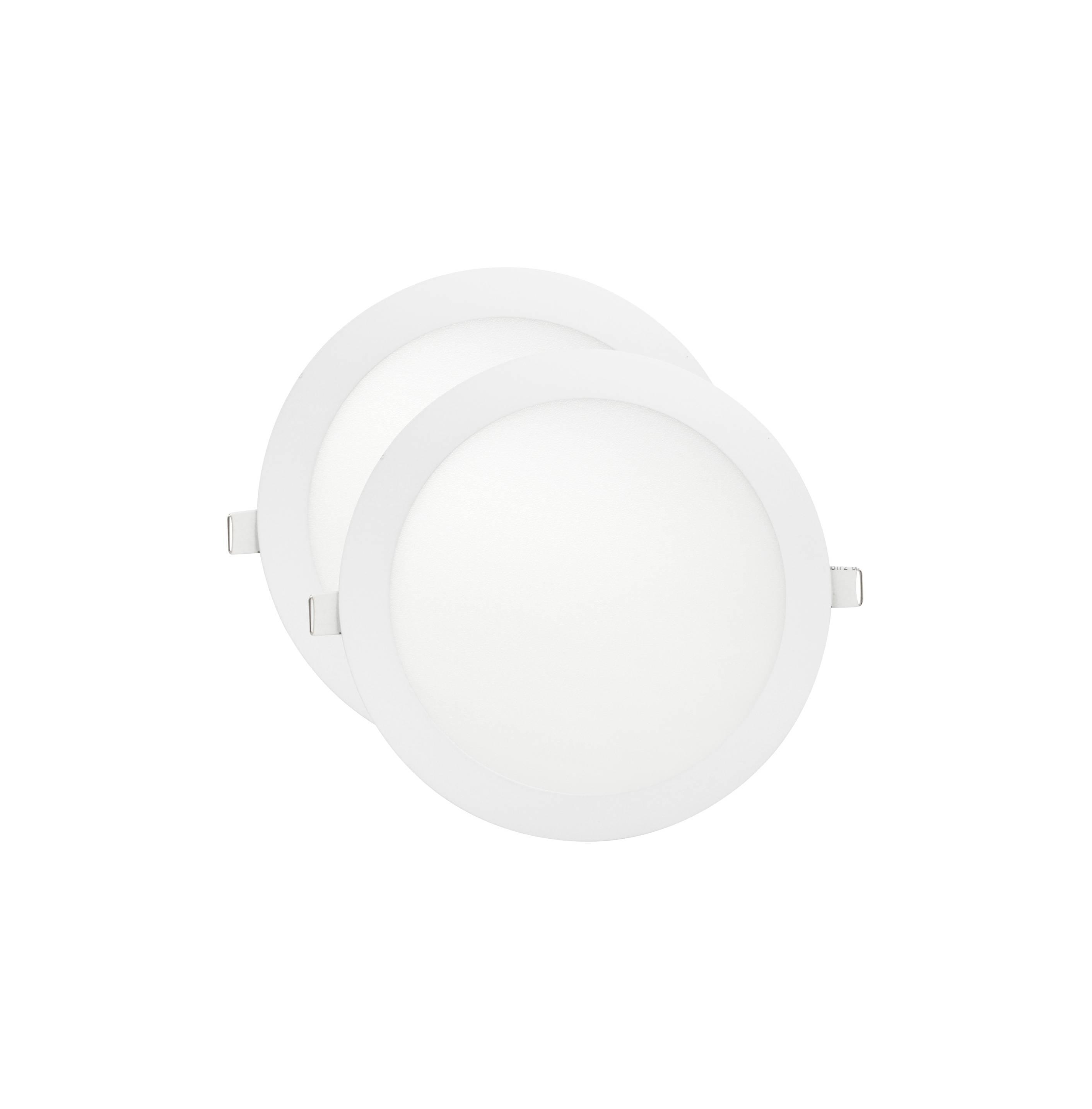 LED Lampu Panel Slim 12 Watt Round Warm White Plafon Rumah
