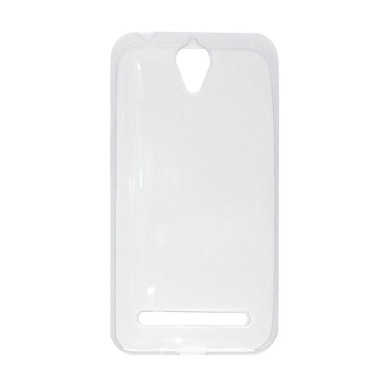 Mr UltraThin Softcase Asus Zenfone Go 4,5 inch ZC451TG Silikon Asus Zenfone Go 4,5 SoftCase Asus Zenfone Go 4,5 Casing Asus Zenfone Go 4,5 - Transparant