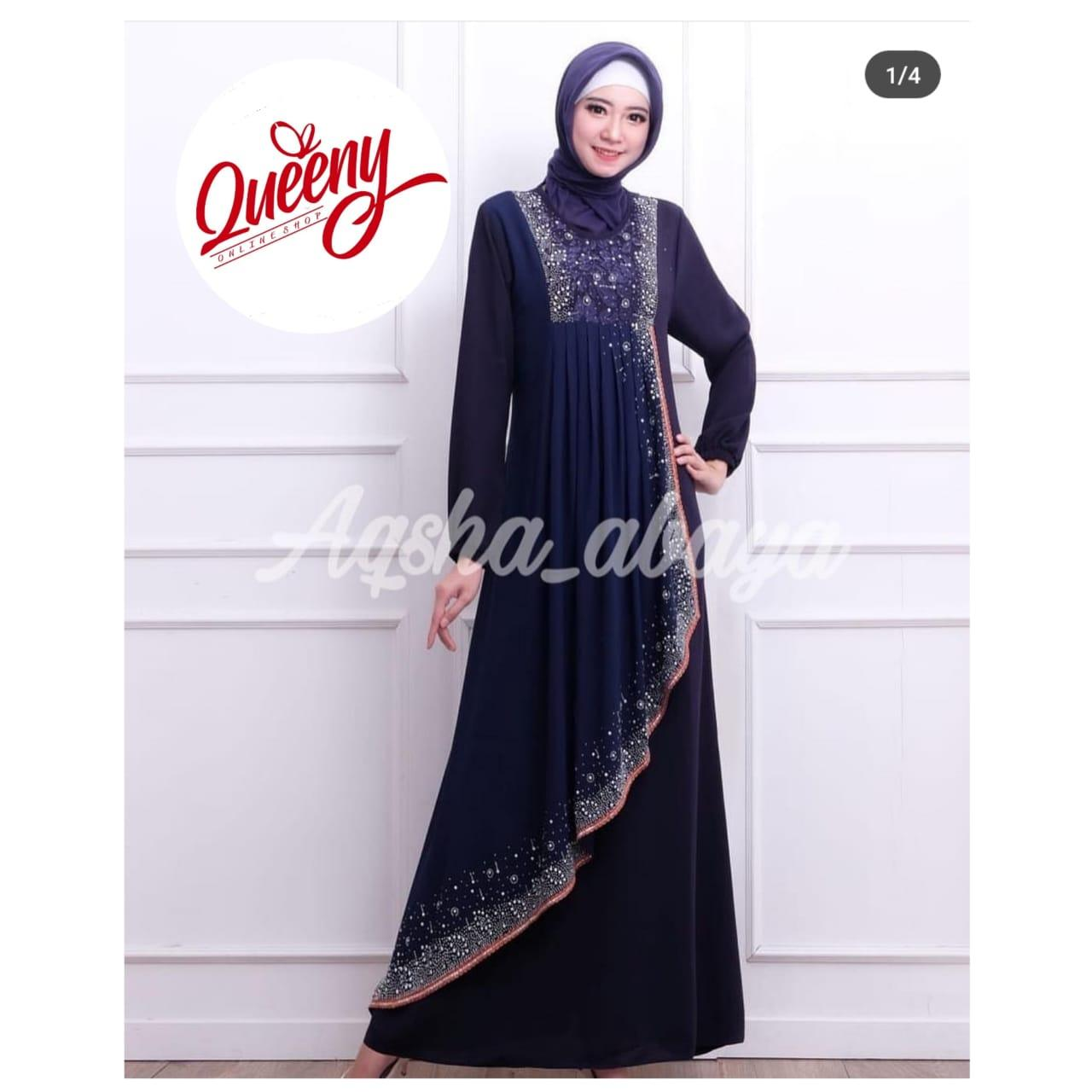 gamis abaya pita india payet terbaru - abaya fashion muslim