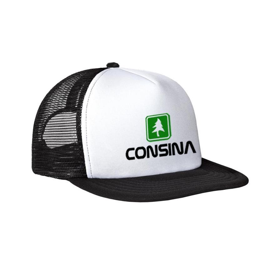 Brather Store Topi Snapback Jaring Consina Logo White Premium