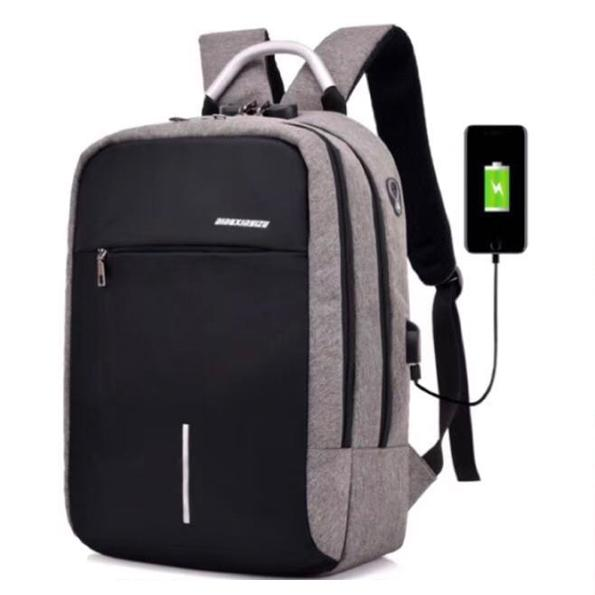 Rp 185.900. Tas Ransel Laptop Anti Maling dengan USB Charger Port Tas Ransel Pria Multifungsi Tas Laptop Backpack ...