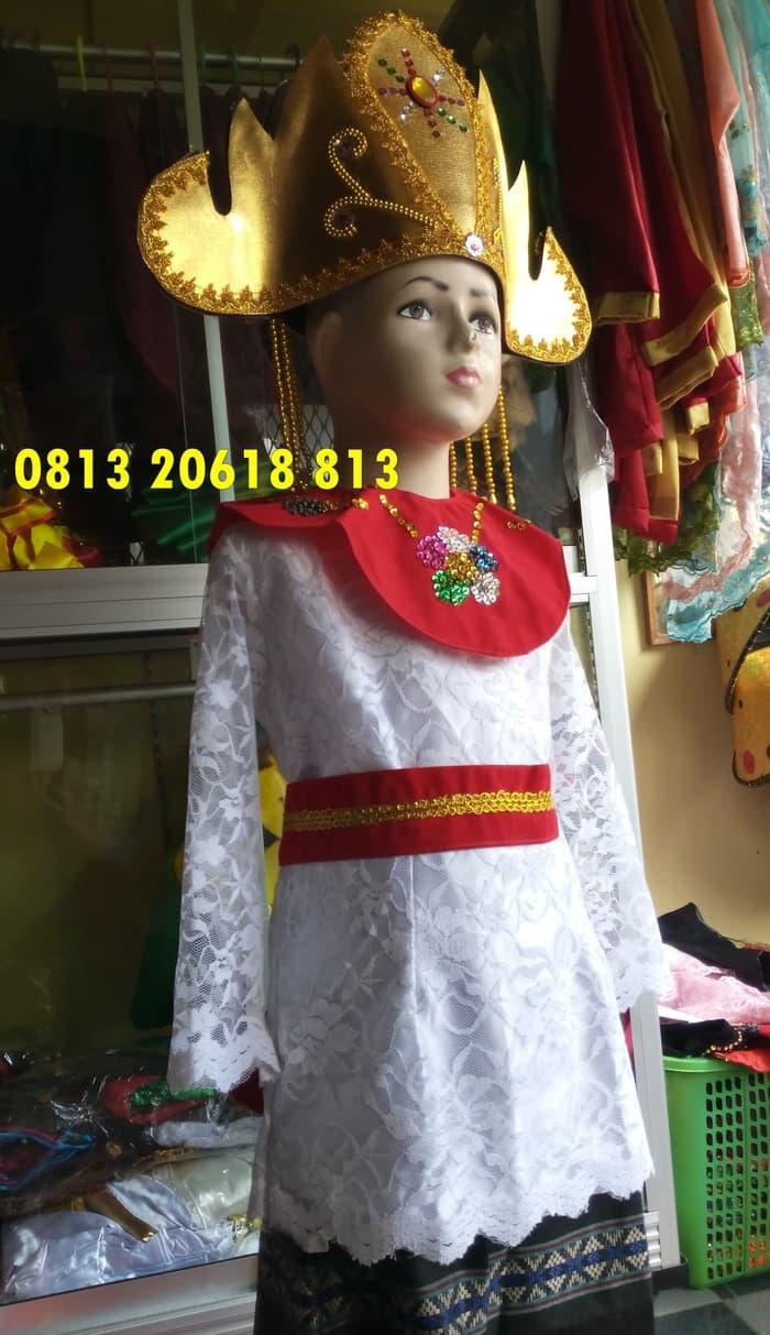 Promo: Lampung Paud-Tk | Baju Adat Karnaval Kostum Tari Anak Wanita Tradisi - ready stock