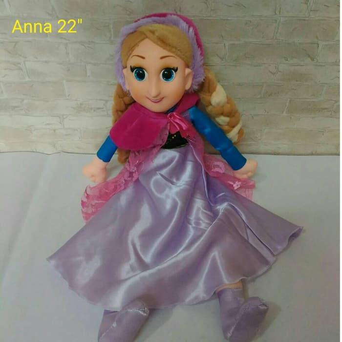 Boneka Anna Frozen - ready stock