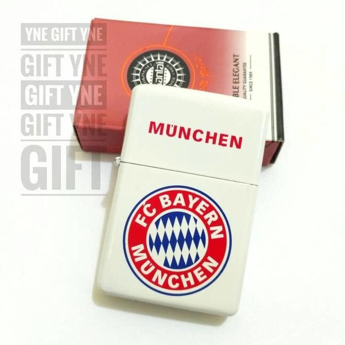 Zippo Model Motif Bayern Munchen- Zippo KW- Korek Zippo Klub Bola