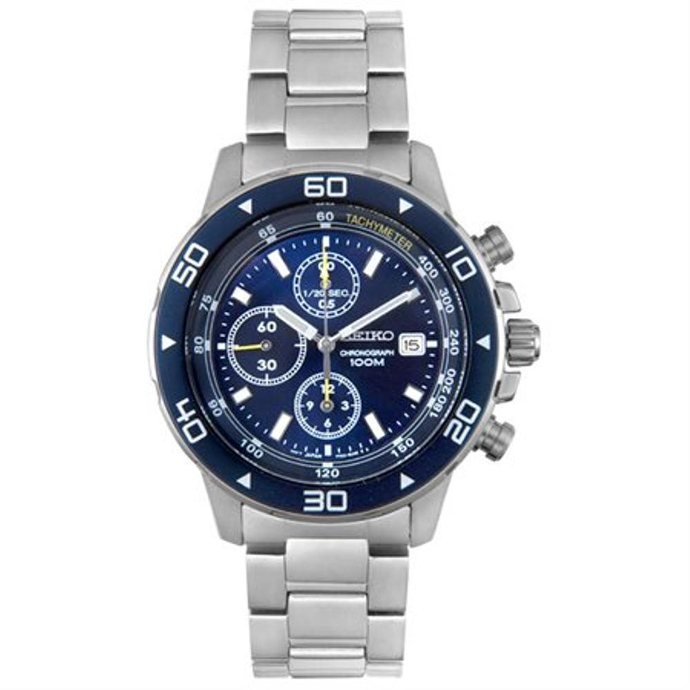 Buy Sell Cheapest Seiko Quartz Snd799p1 Best Quality Product Deals Classic Sgeh51p1 Sapphire Crystal Stainless Steel Bracelet Chronograph Blue Dial Jam Tangan Pria Snd799