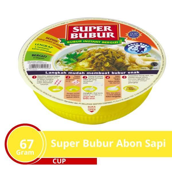 Rp 4.950. Super Bubur Abon Sapi ...