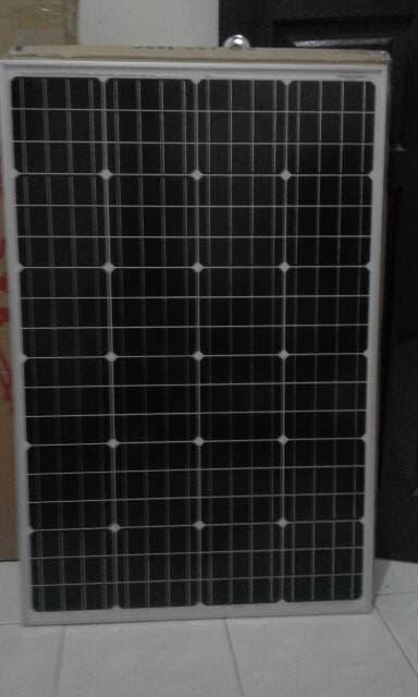 Promo  Solar Panel Surya monocrystalline 100WP / Solar Cell 100 Watt  Original
