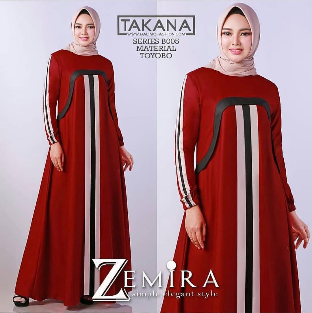 Baju Murah Terbaru Gamis Zemira Dress Baloteli Gamis Baju Modis Syari Pesta Baju  Casual Murah Trendy fdd3a5111a