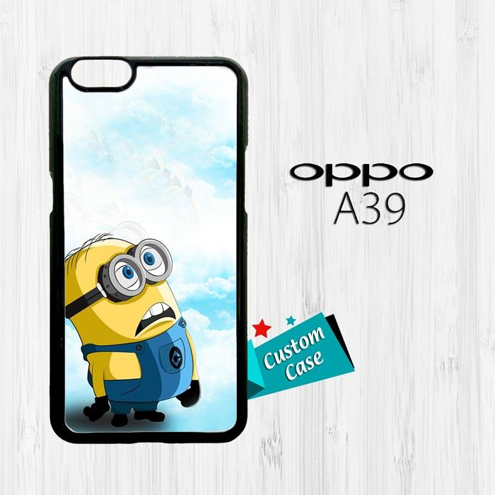 Minion from Despicable Me Vektor O0390 OPPO A57 Custom Case Cover