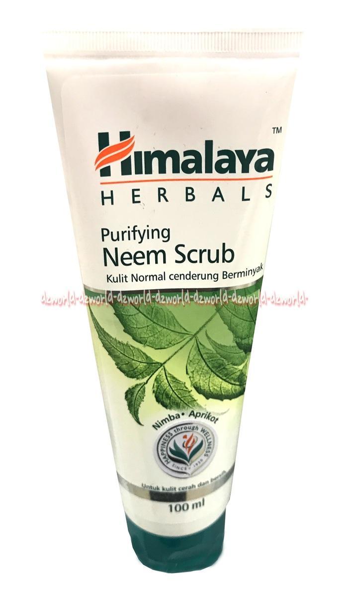 Himalaya Purifying Neem Scrub Sabun Cuci Wajah Sabun Pembersih Muka