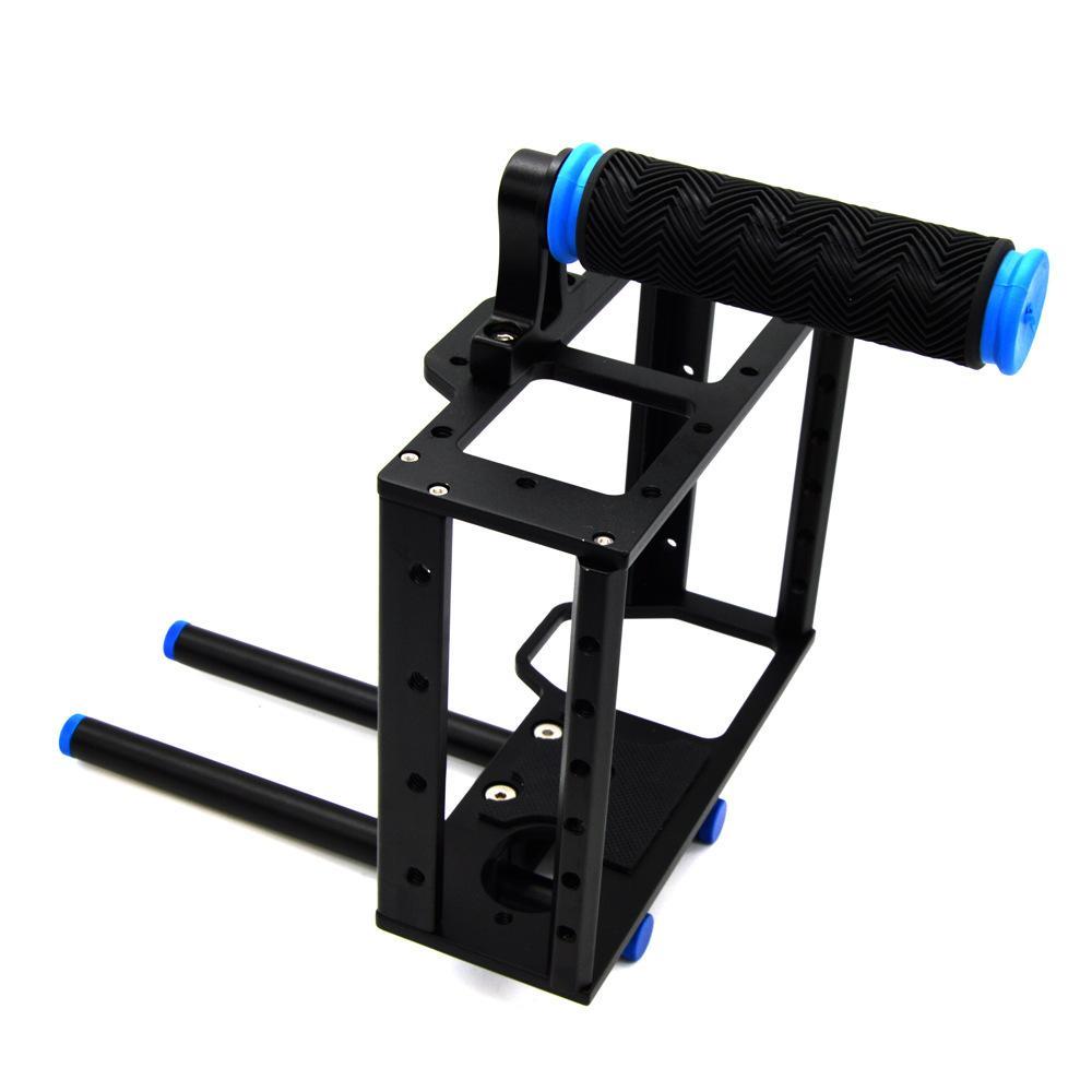 Kamera Video Kit Kandang Kelinci Stabilizer Menangani 5D 2 5D 3 6D 7100 General Vlog-Intl