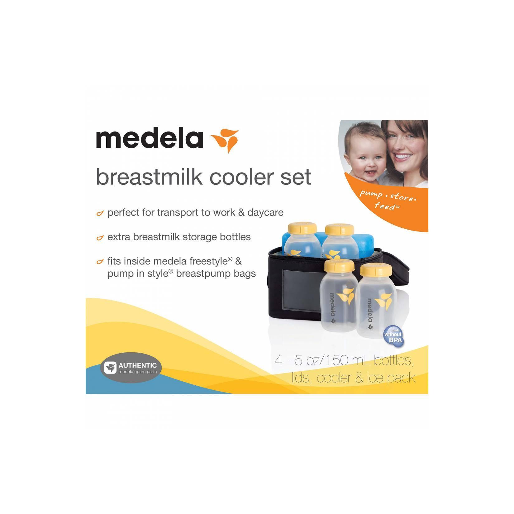 Medela Cooler Bag / tas+botol penyimpan asi