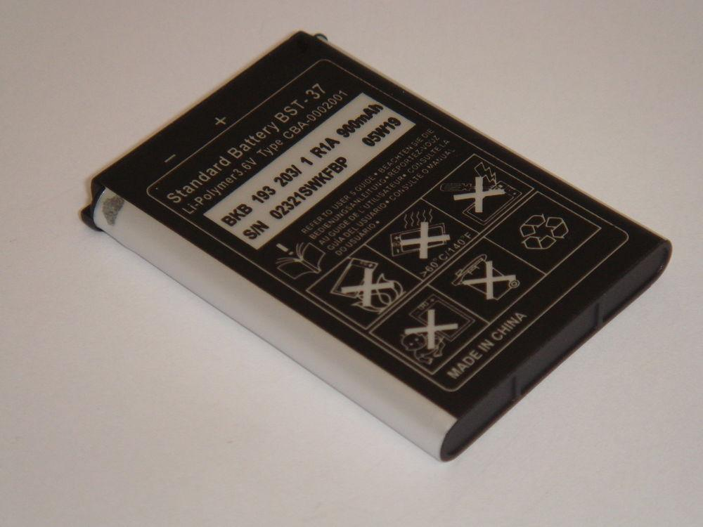 100% ORIGINAL Sony Ericsson Battery BST-37 / K750i, W800i, W350i, W810