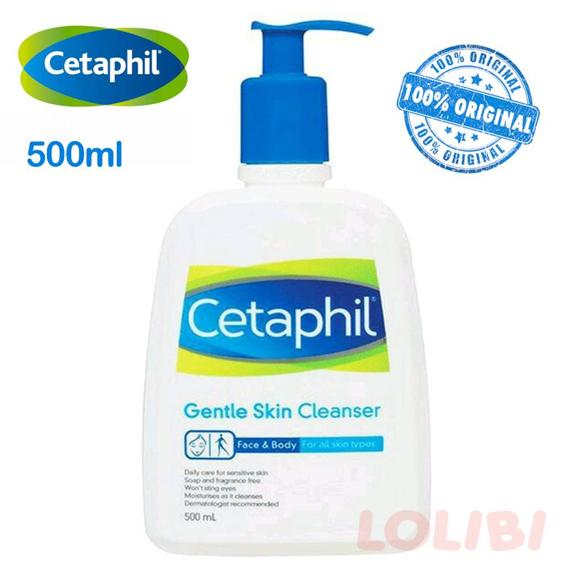 Cetaphil Gentle Skin Cleanser 500ml By Lolibi.