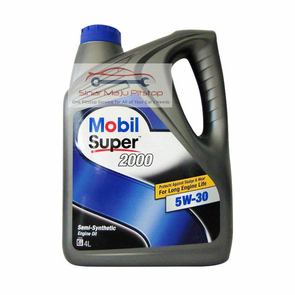OLI MESIN MOBIL 1 SUPER SYNTHETIC OIL 5W-30 API SN - Pelumas Oli Mesin 4 Liter ORIGINAL IMPORT SINGAPURA SETARA SHELL HELIX ULTRA