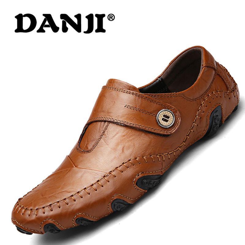 Danji Pria Asli Bisnis Breathable Kulit Sepatu (hitam)-Intl By Danji Official Flagship Store.
