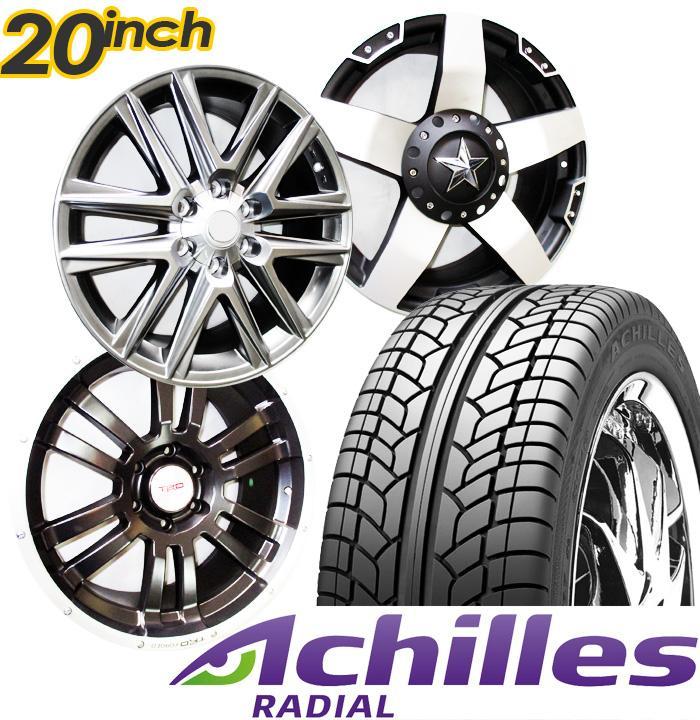 Paket Cicilan velg mobil racing ring 20 inch PCD 6x139.7 + Ban 275/55 R20 Achilles