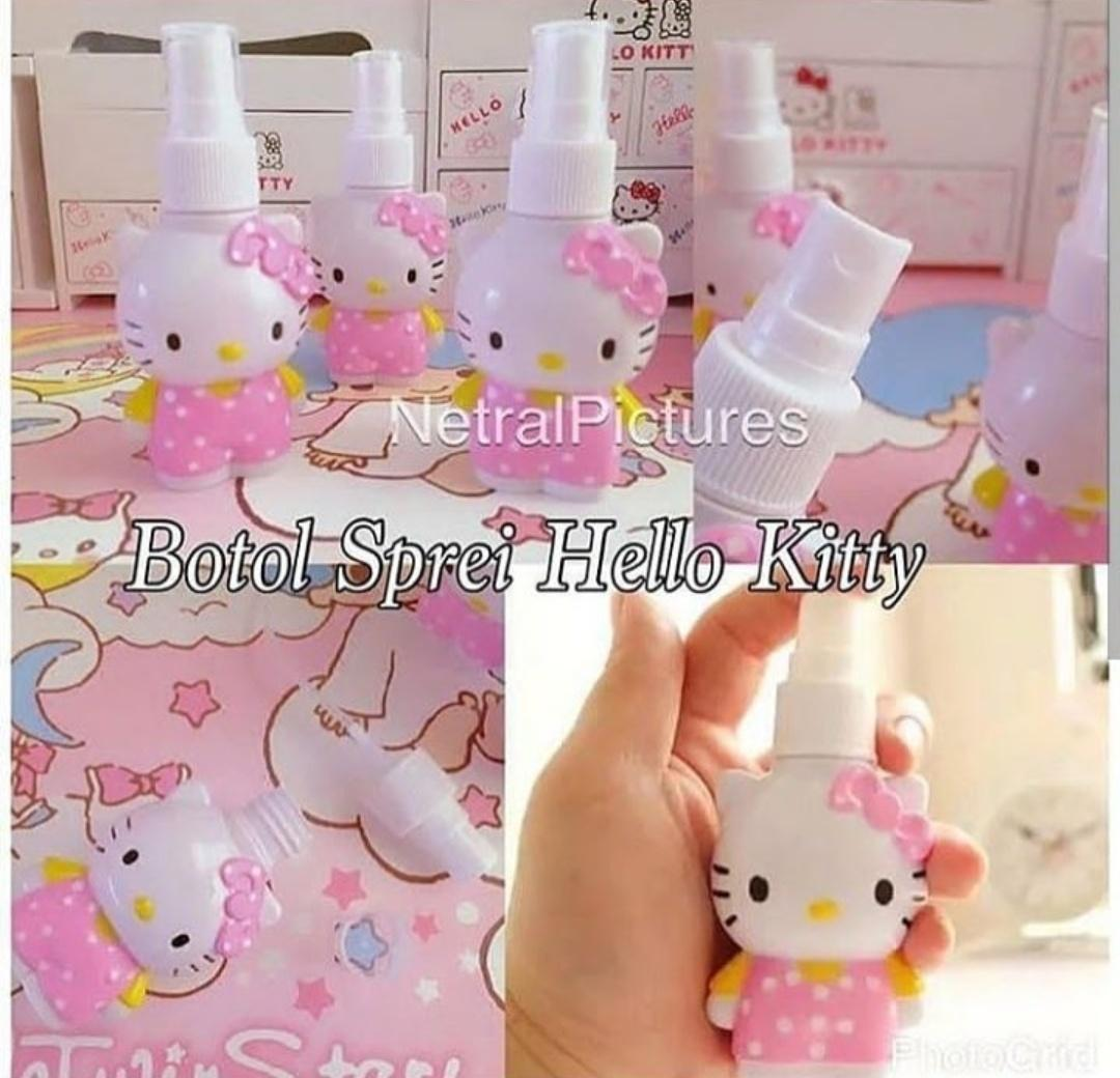 Botol Spray Hello Kitty By Carolinafera.