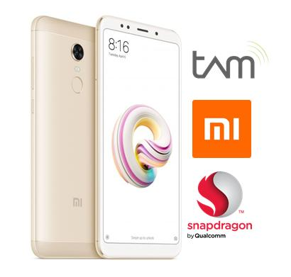 Xiaomi Redmi 5 RAM 3GB/32GB Gold - Garansi TAM