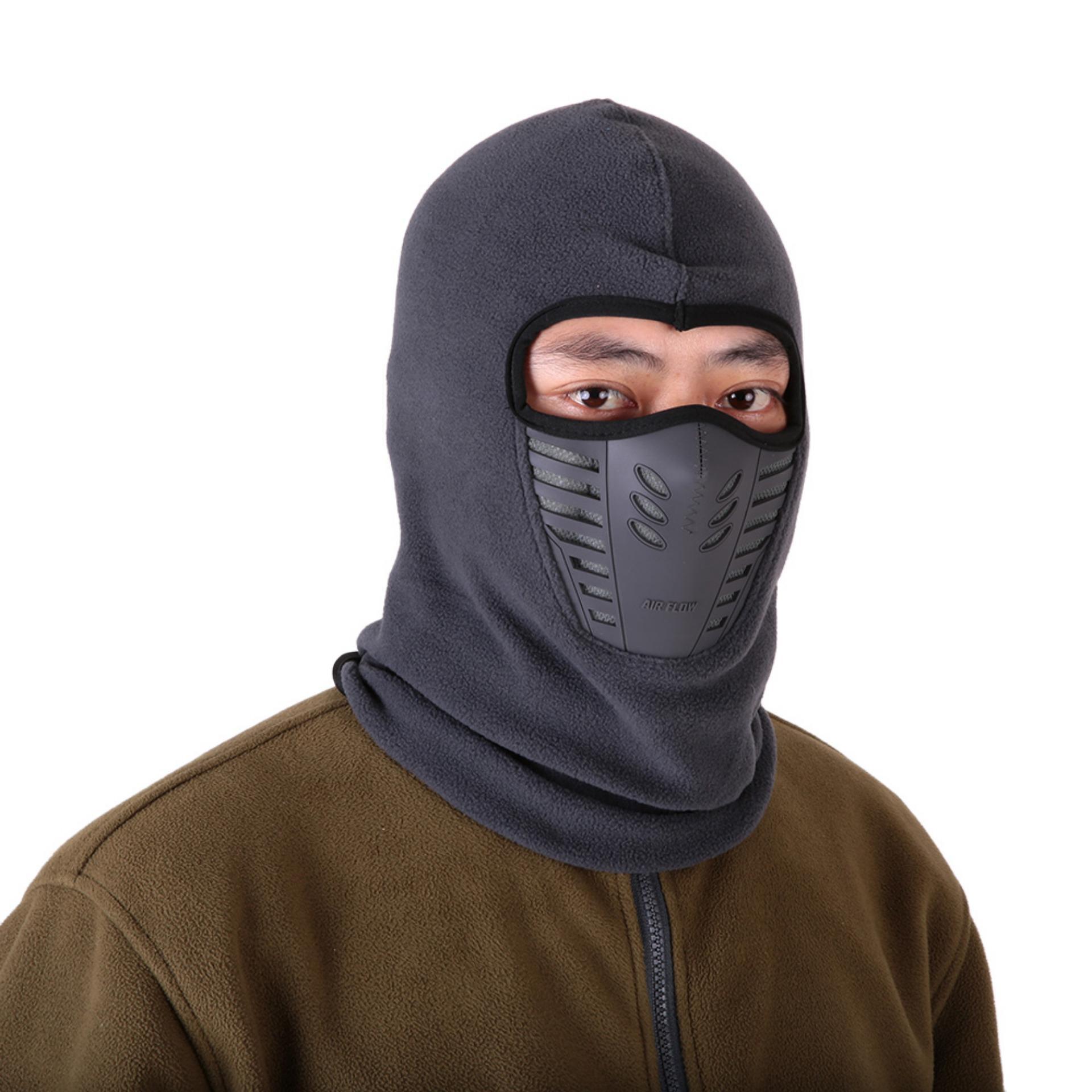 Masker Polar Kupluk Multifungsi Neck Mask Masker Kupluk Syal Buff Bandana. Source · Masker Motor
