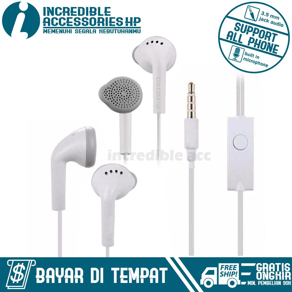 Produk Elektronik Samsung Terlengkap Galaxy Young New S6310 4gb Putih Headset A7 2017 Handsfree Headphones Bass Audio High Qualty