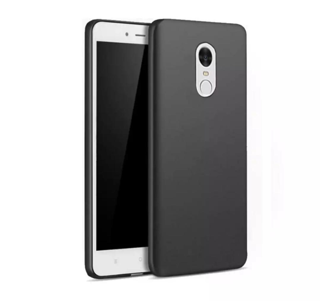Case Slim Black Matte Xiaomi Redmi Note 4x Softcase Anti minyak