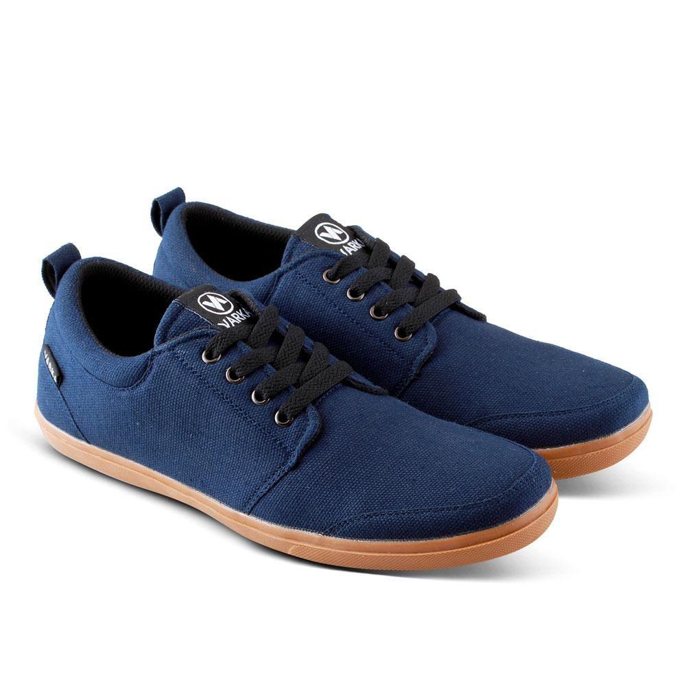 Sepatu Kanvas V 517 Sneakers dan Kasual Pria untuk jalan, santai, olahraga lari joging, kuliah, sekolah,kerja - Navy