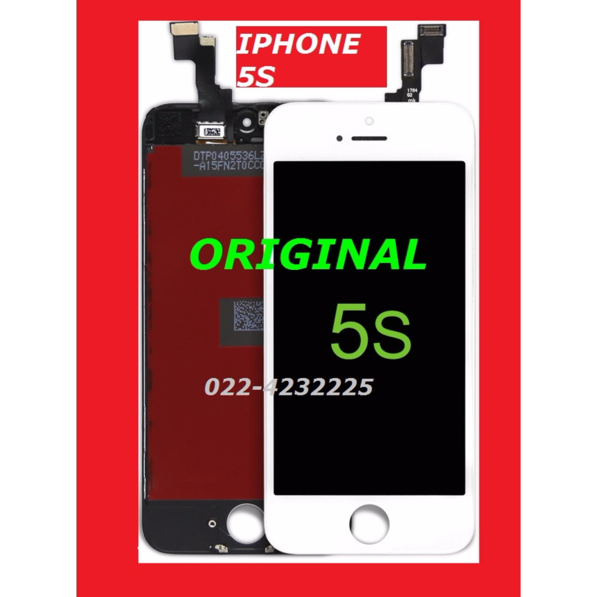 IPHONE 5S LCD TOUCH TOUCHSCREEN WHITE PUTIH ORIGINAL 900688