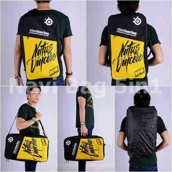 PROMO!!! Gaming Bag (Tas Gaming) Barracuda v5 5in1 Navi Art Black - ayXxba