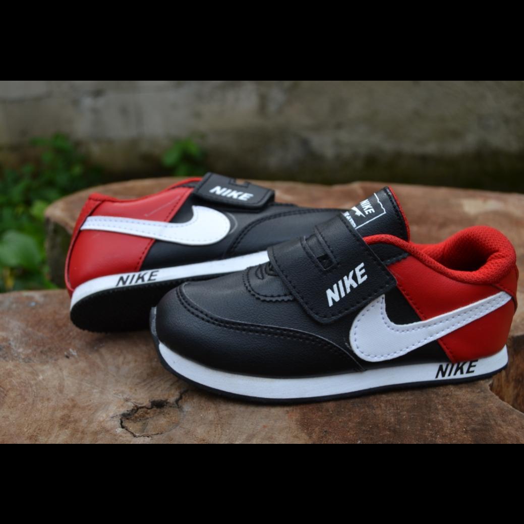 Sepatu Anak Laki Laki Dan Perempuan - Sepatu Sekolah Merah By Agustin_shop.