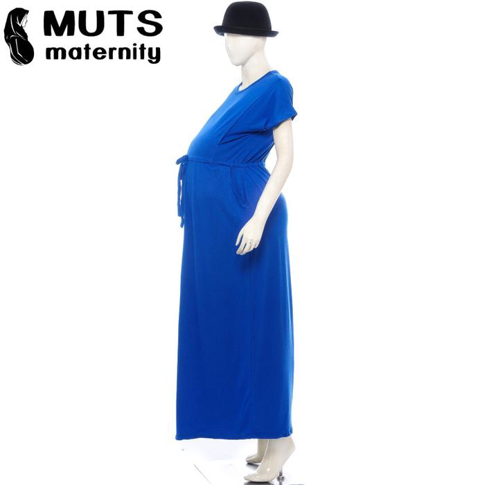 vaza dress baju dress tunik gamis manset batik hamil menyusui jumbo