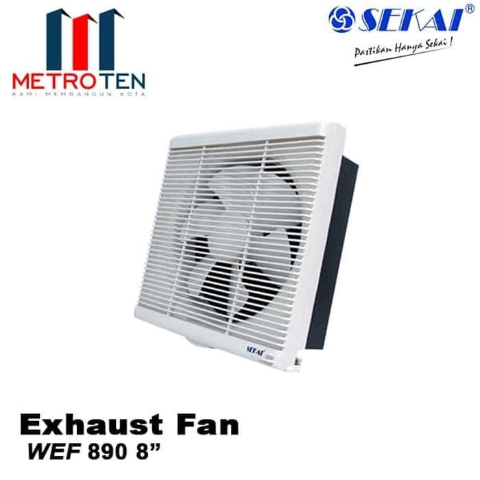 SEKAI Exhaust Fan Dinding WEF 890 - Exhaust / Blower