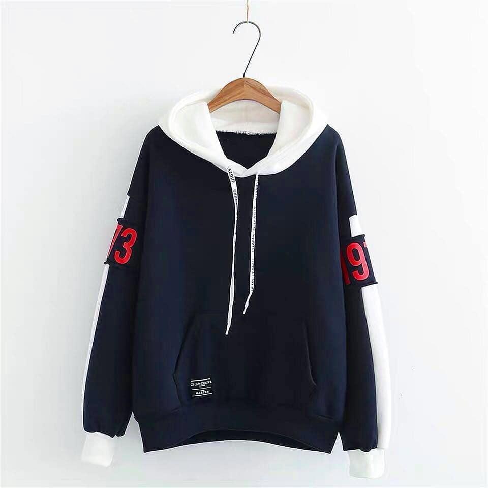 Sweater Hoodie Wanita Choko Sweater Jaket Cewe Murah Modis Keren