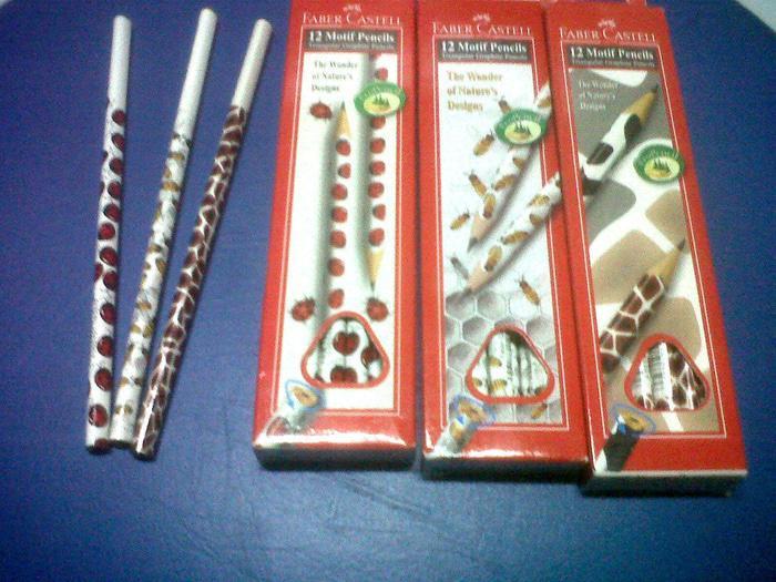 Pensil 2B Kulit Binatang Faber Castel Isi 12 Pcs