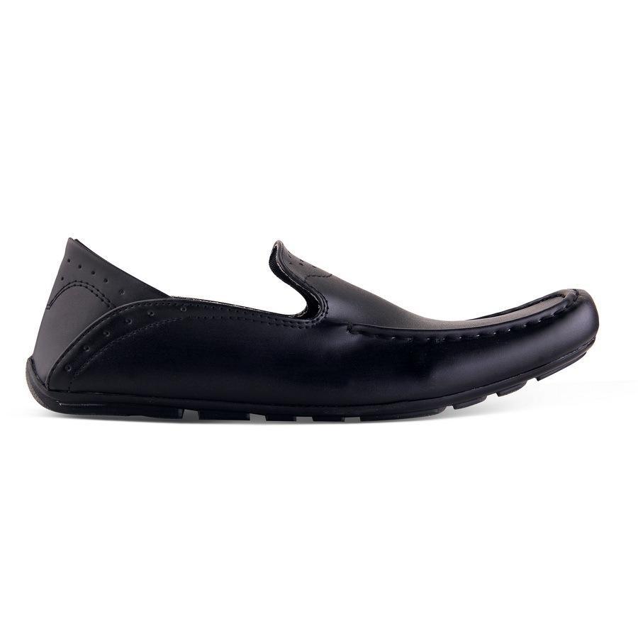 sepatu slip on - casual -formal - kulit buaya - occean original handmade - awet