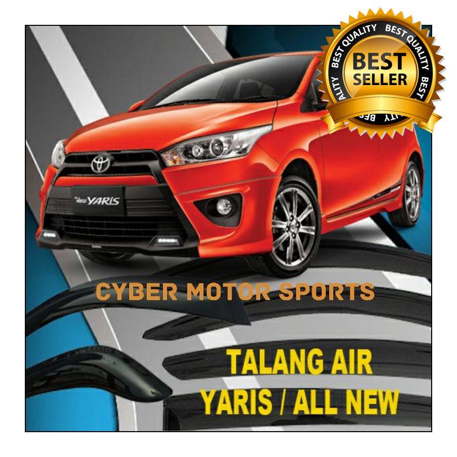 Harga Talang Air Toyota Yaris All New Side Visor Door Brio Injection High Quality Slim Bahan Aclyric Berkualita Rp 262500