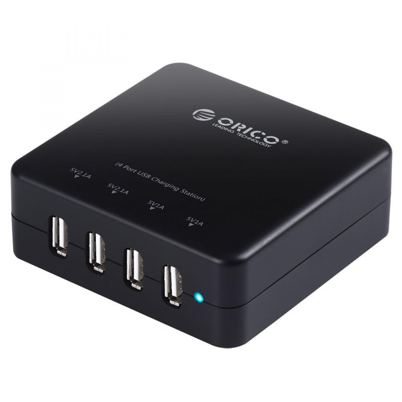 Orico USB Wall Travel Charger Hub 4 Port - DCE-4U 4.7 / Cas Dengan USB 4 Terbaru Murah / Charger Kabel Murah Terlaris