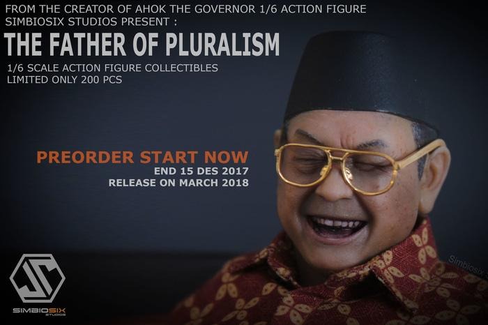 Best Seller!! 1\U002F6 Scale Deluxe Figure Gusdur The Father Of Pluralism Skala Hot Toys - ready st