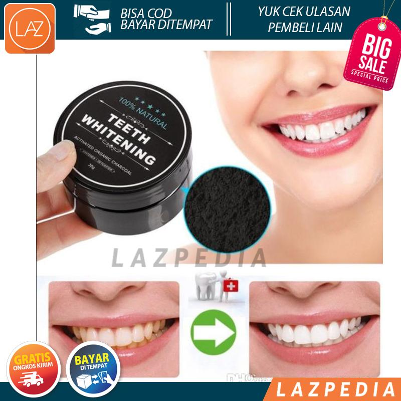 COD BYR DITEMPAT - PROMO!!!! - Charcoal Powder Activated Teeth Whitening 4ba36d9510