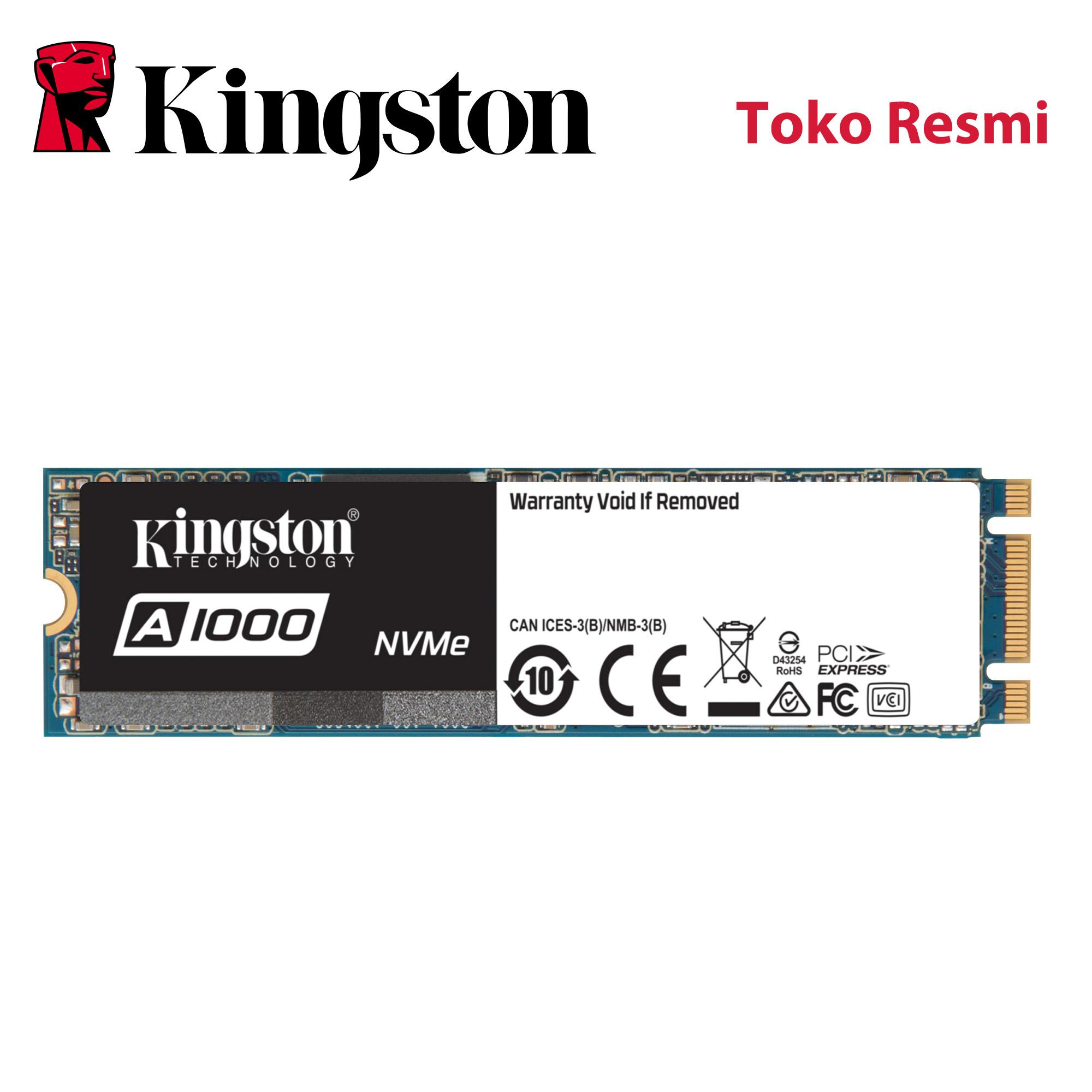 Kingston Entry Level PCIe NVME M.2 480GB SA1000 Series (SA1000M8/480G)