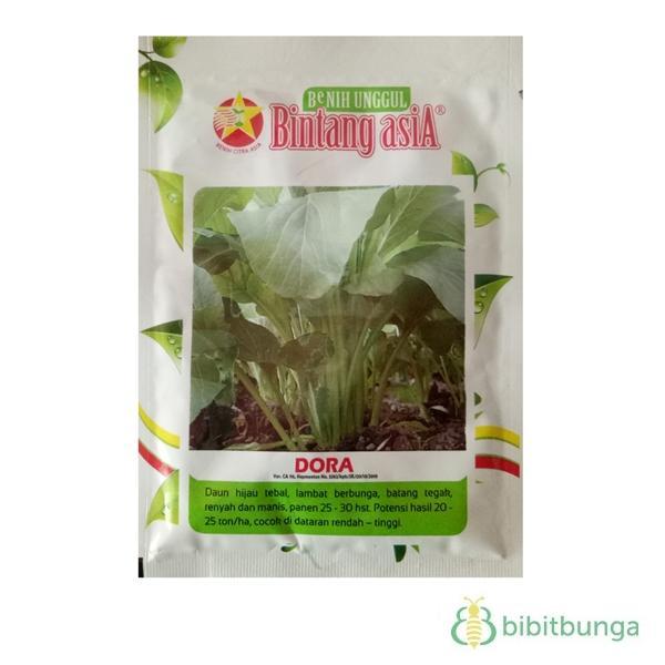 Bibit Bunga Benih Bintang Asia Sawi / Caisim Dora – 25 gram