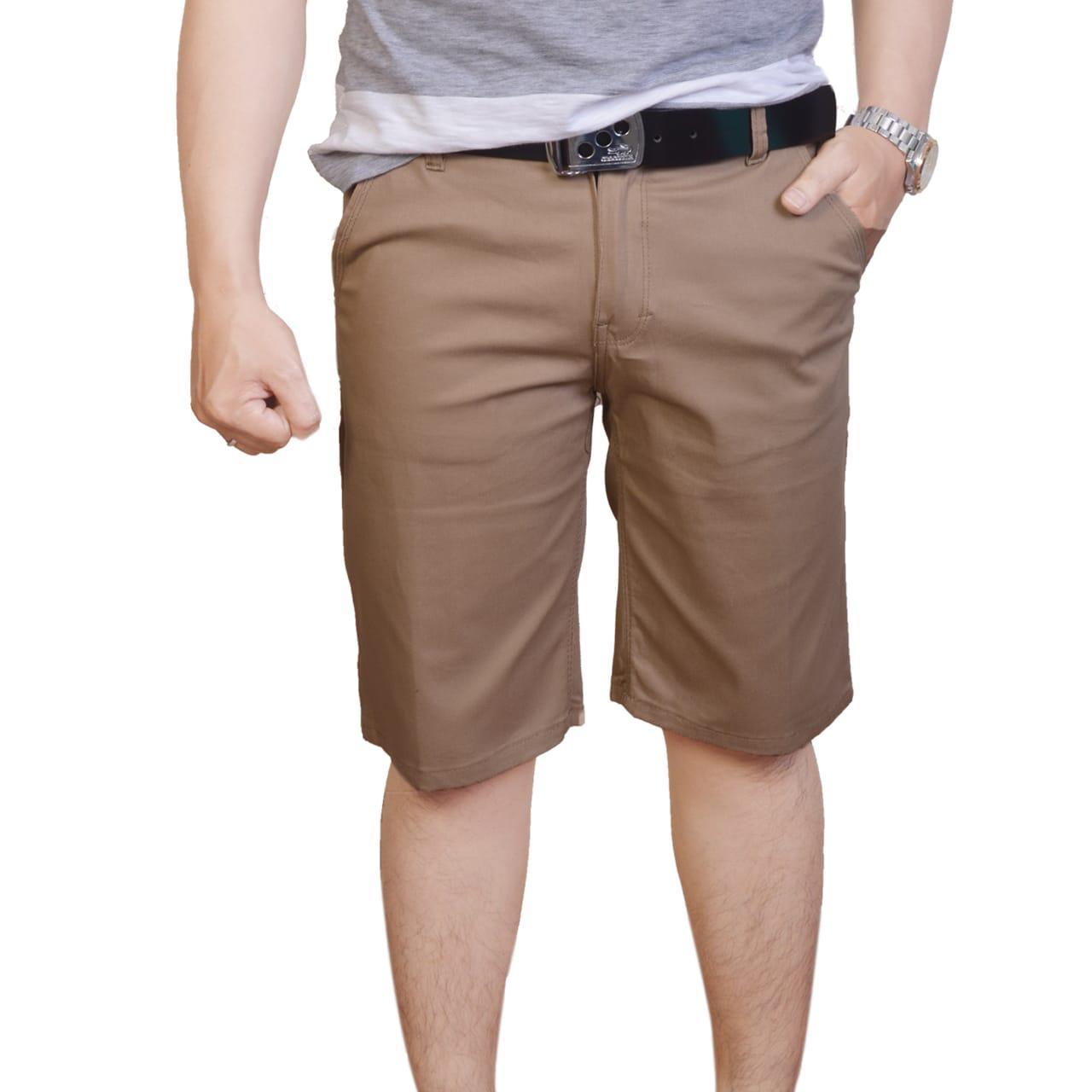 Celana Pendek Pria - Celana Pendek Chino - Celana Pendek Cargo Fashion  Pakaian Pria Jahitan Rapi bb5506e5da