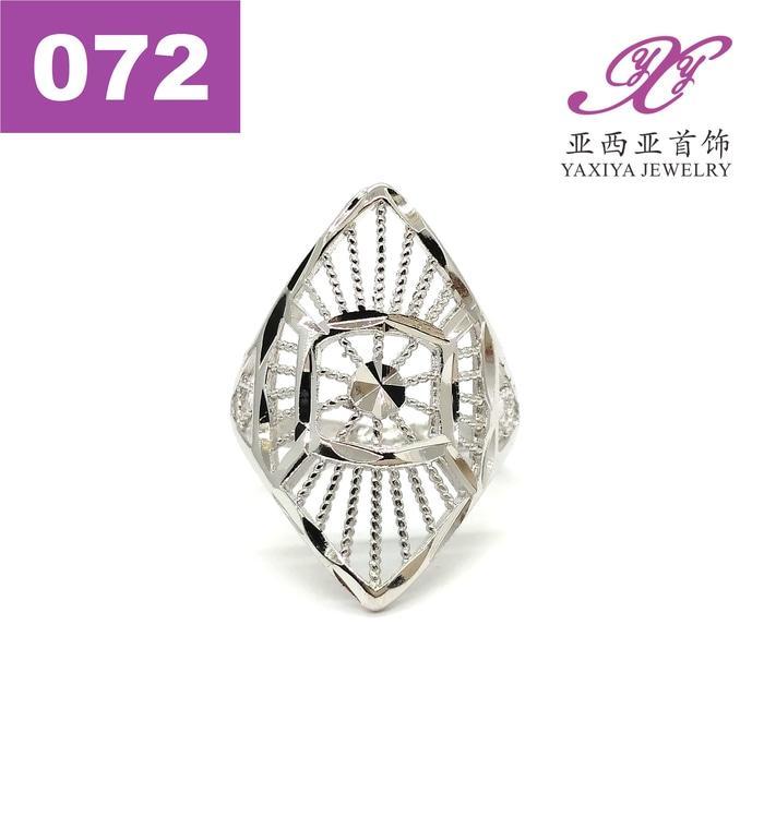 Cincin keren putih Jenis Dubai Perhiasan imitasi  Yaxiya Jewelry 072