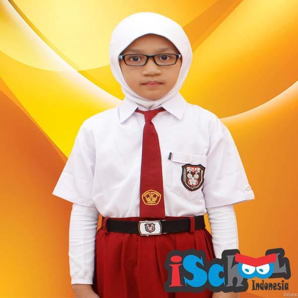 iSchool Baju Sekolah SD 7/9 Lengan Pendek