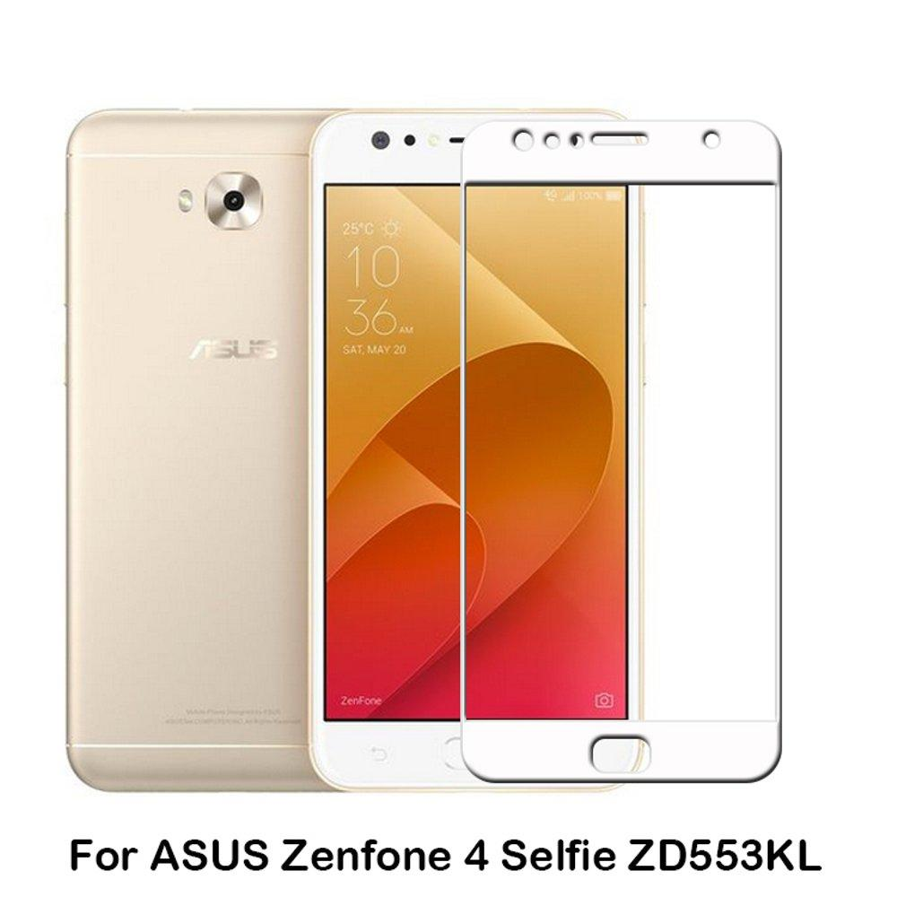 HMC Asus Zenfone 4 Selfie / ZD553KL Tempered Glass Full Screen - Screen Guard - Lis