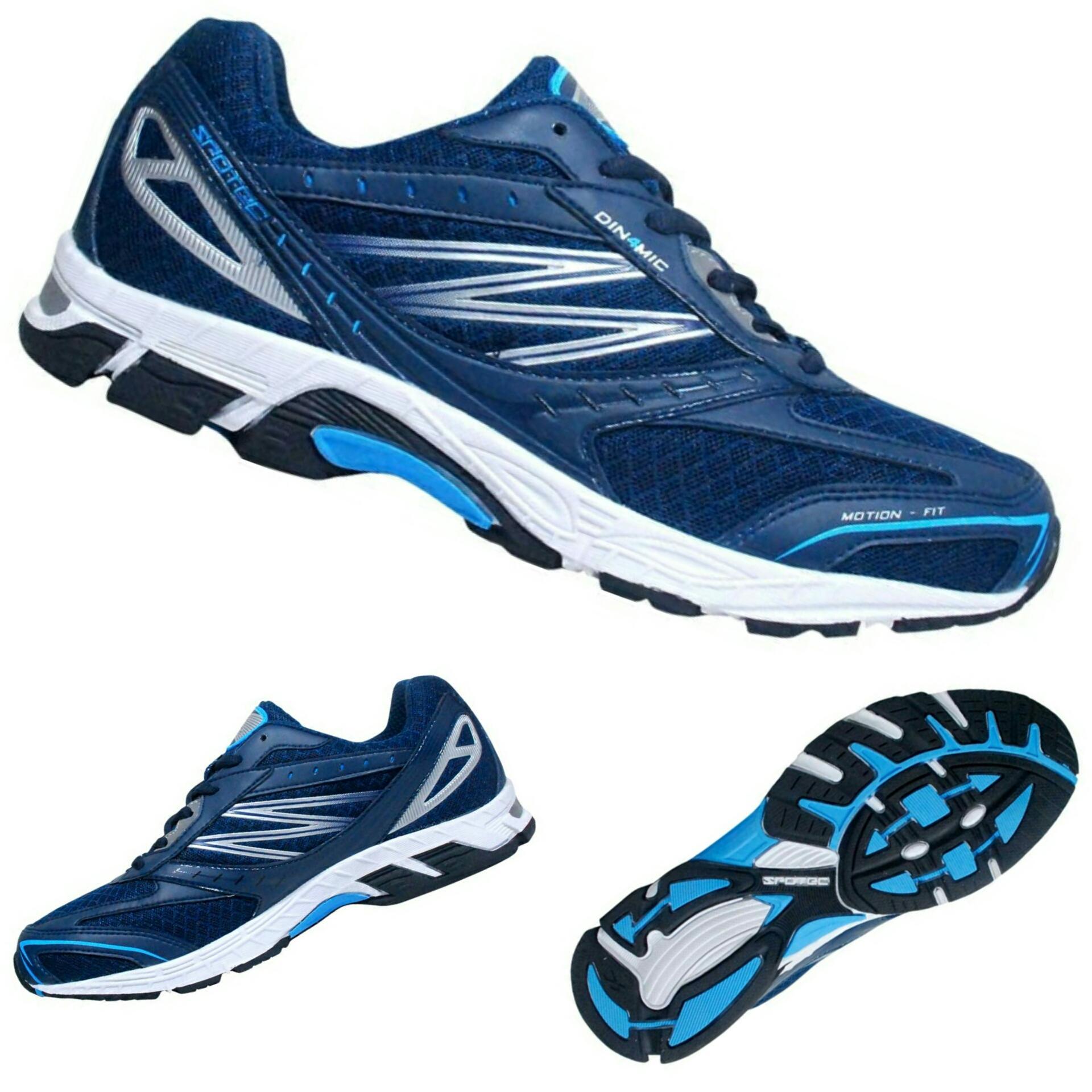 Spotec Maxima Sepatu Lari Abu Abu Tua Biru - Daftar Harga Terlengkap ... 64e244ebab