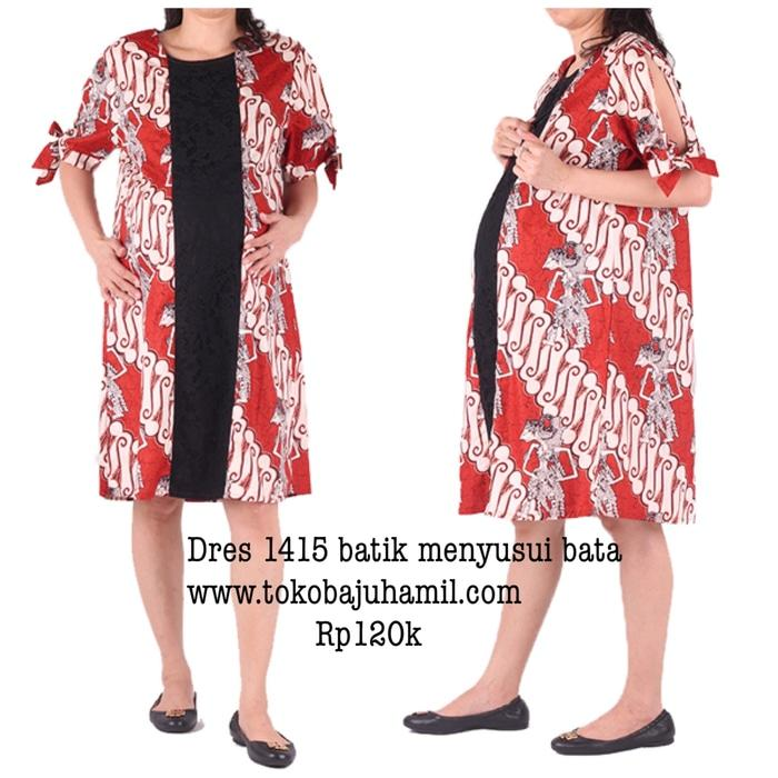 hmill dres batik 1415 bata