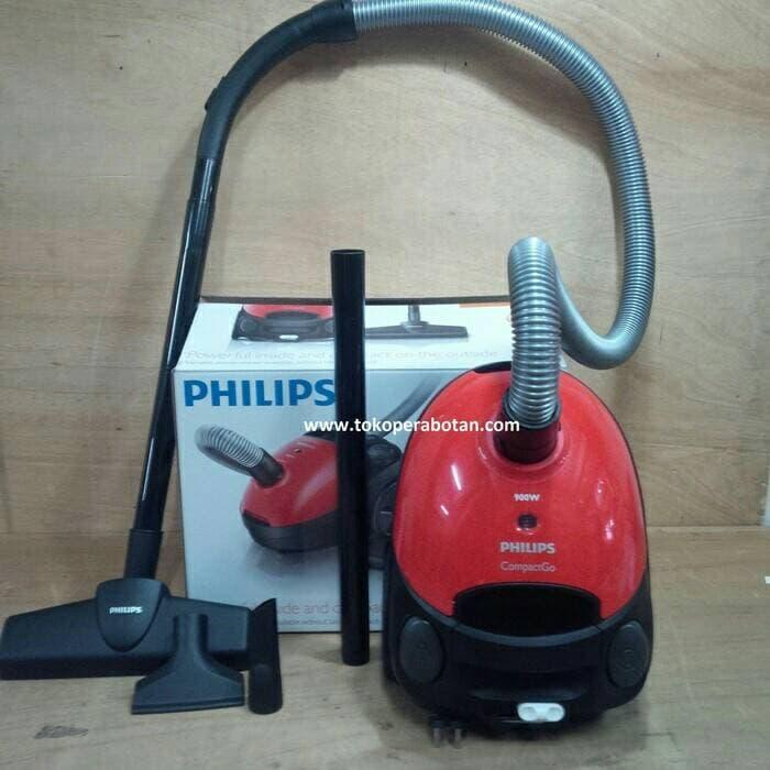 Vacuum Cleaner Philips Compact GO FC-8291 ||| vacum cleaner idealife usb rumah mobil mini portable krisbow karpet bolde panasonic robot sharp black decker philips