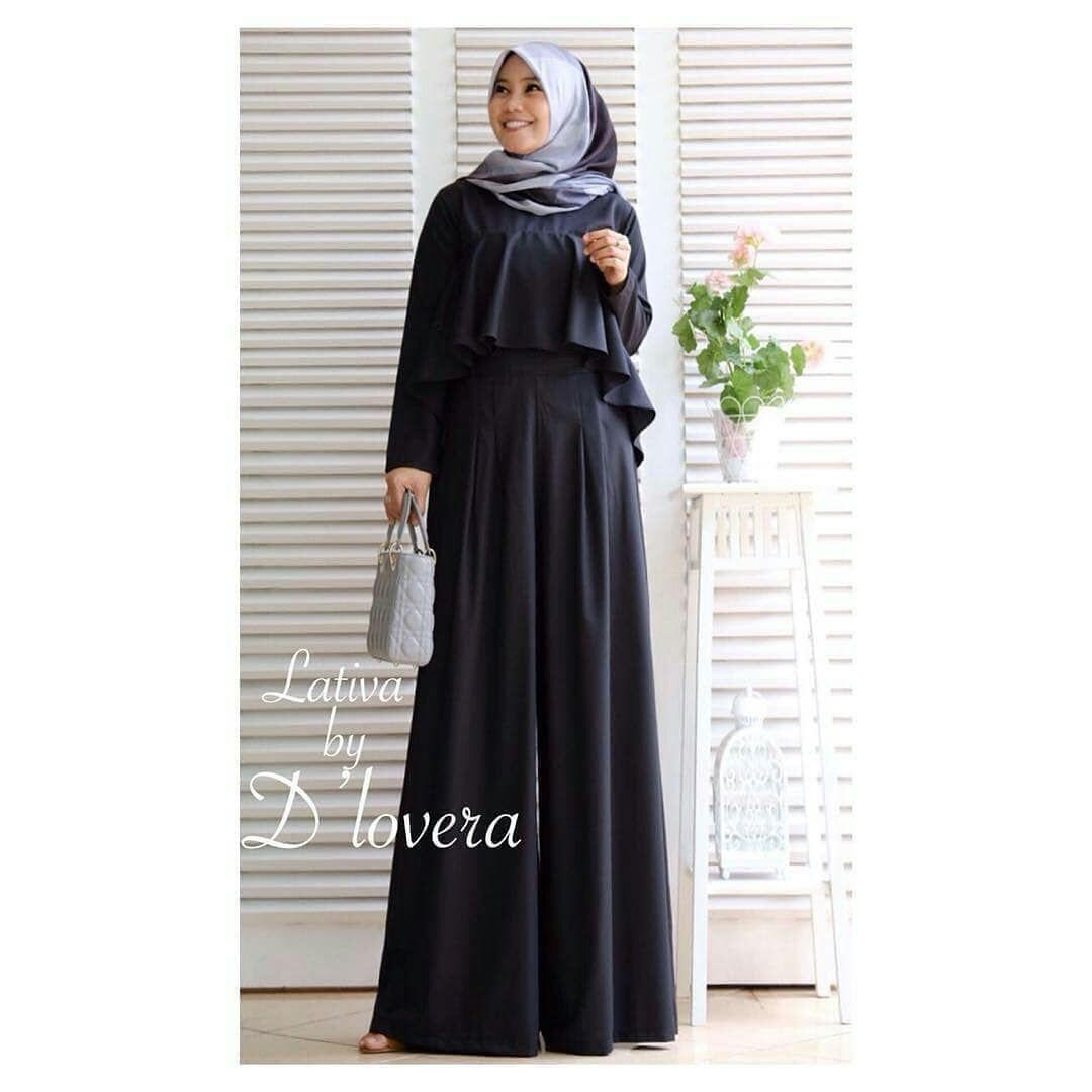 Baju Original Jumpsuit Lativa Jumpsuite Balotelly Baju Wanita Panjang  Playsuit Muslim Setelan Casual Baju Kerja Modis 59f821471b